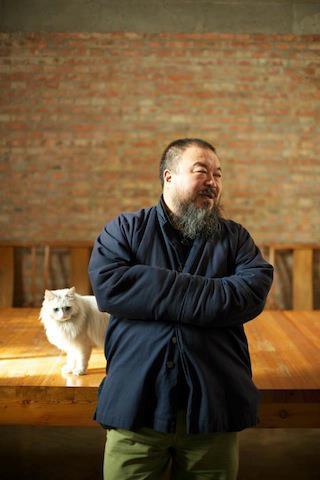 Ai Weiwei con Lai Lai