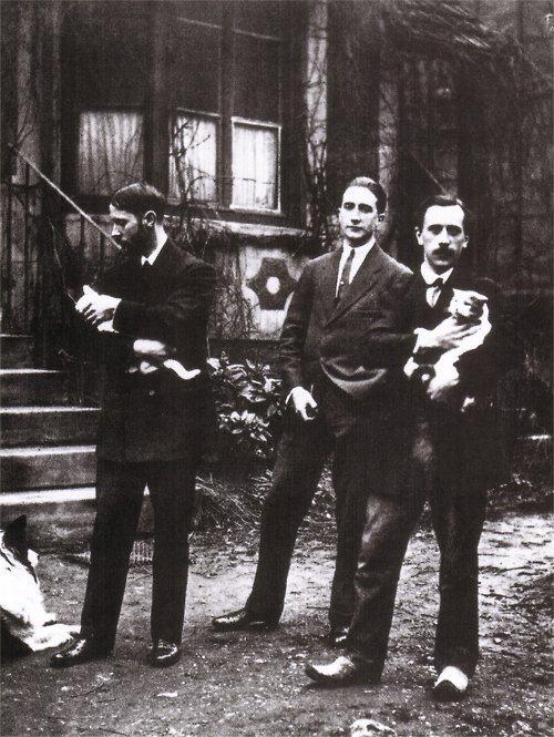 Jacques Villon, Marcel Duchamp, Raymond Duchamp-Villon