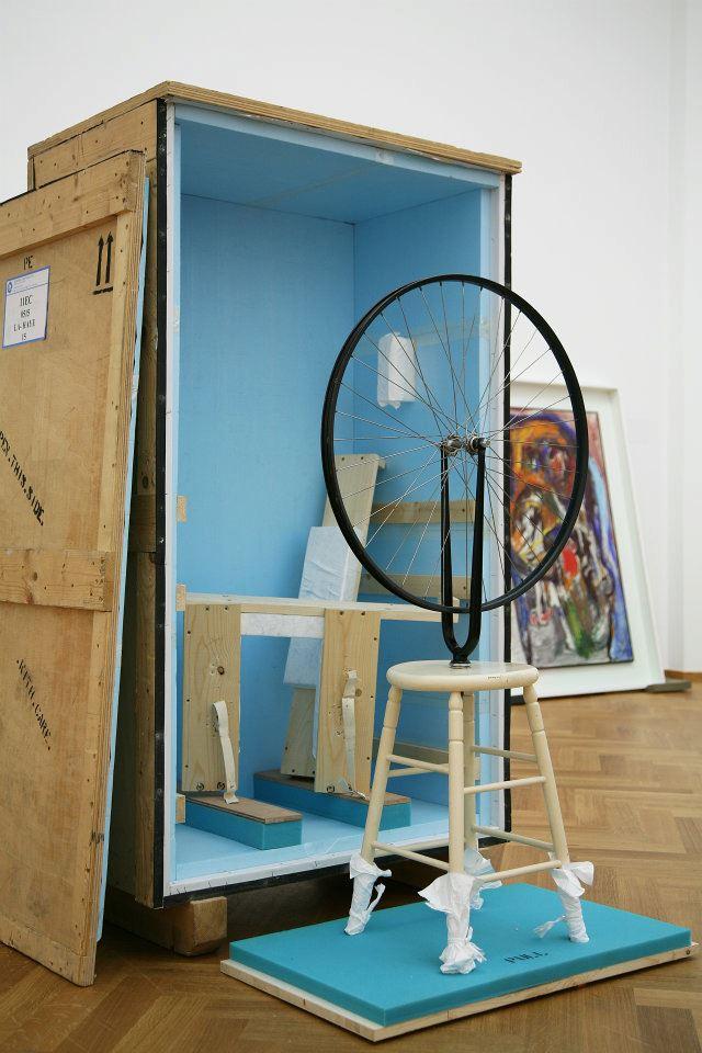 Un Duchamp al Centro Pompidou