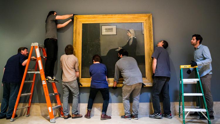 Si cerca di allineare un'opera di James Abbott McNeill Whistler al Norton Simon Museum