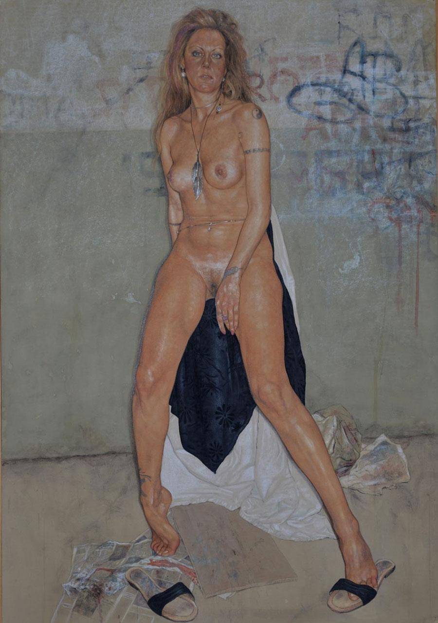 i quadri erotici di Riccardo Mannelli
