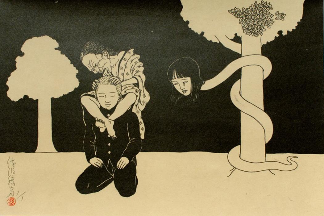 l'arte erotica di Toshio Saeki