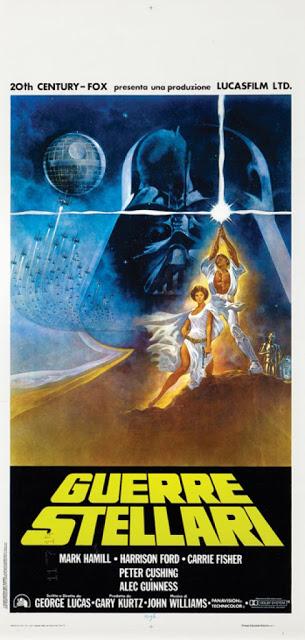 Star Wars, le locandine vintage e rare di quando era ancora Guerre Stellari