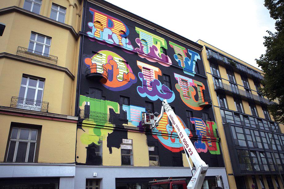 Ben Eine, Berlino