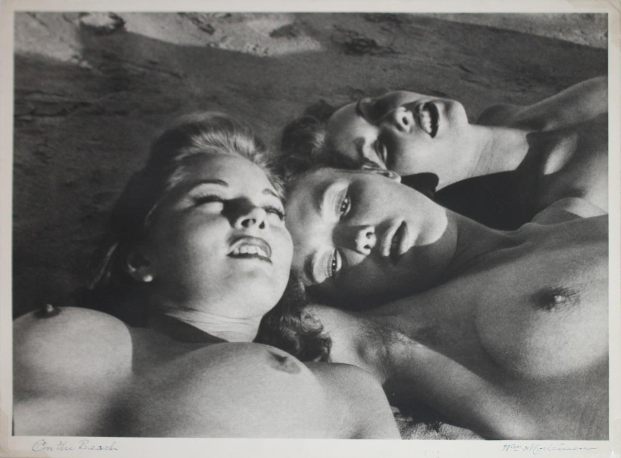 19_on the beach_1951_william mortensen