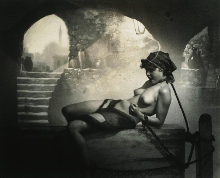 25_Chained Nude_william mortensen