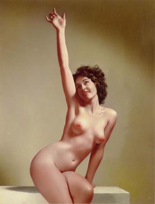 31_Jeanne Crain_1943_william mortensen