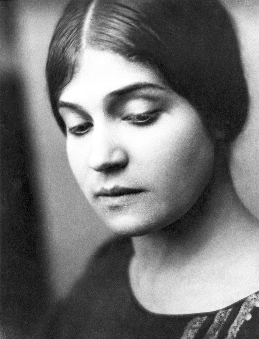 Tina Modotti San Francisco 1921 Foto: Johan Hagemeyer