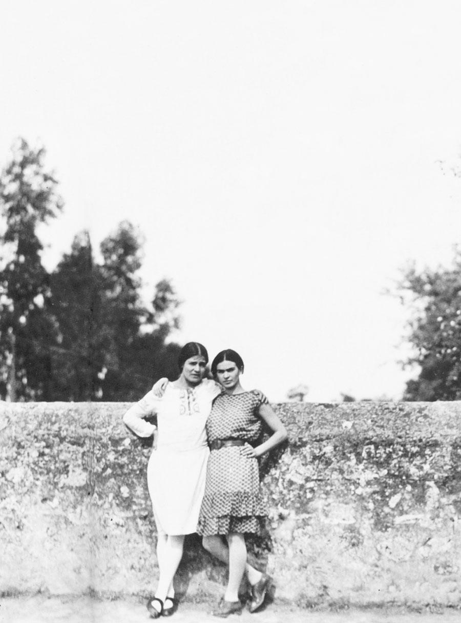 Frida Kahlo e Tina Modotti.